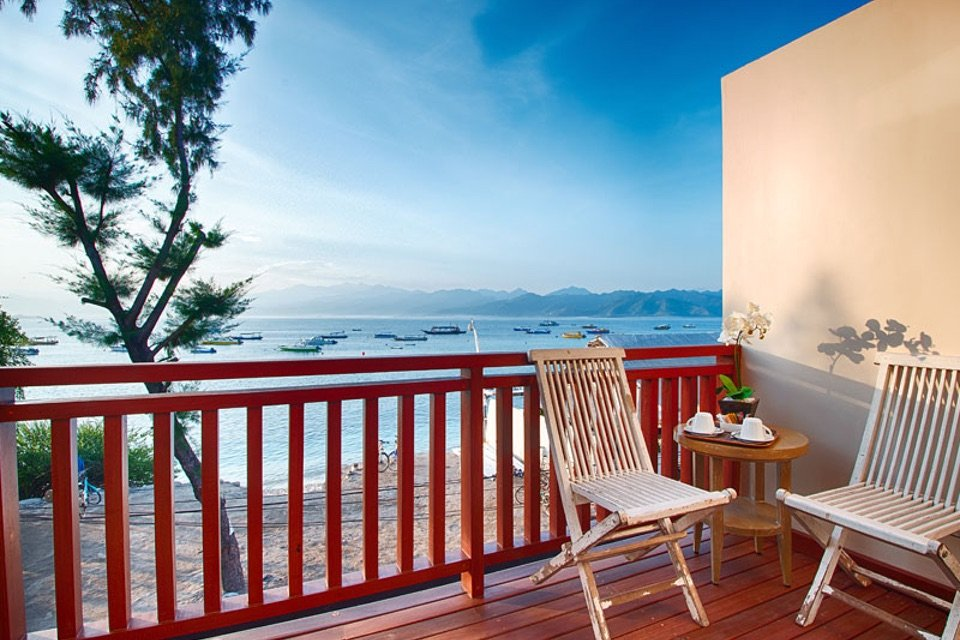 Natya Hotel, Gili Trawangan_Ocean Terrace