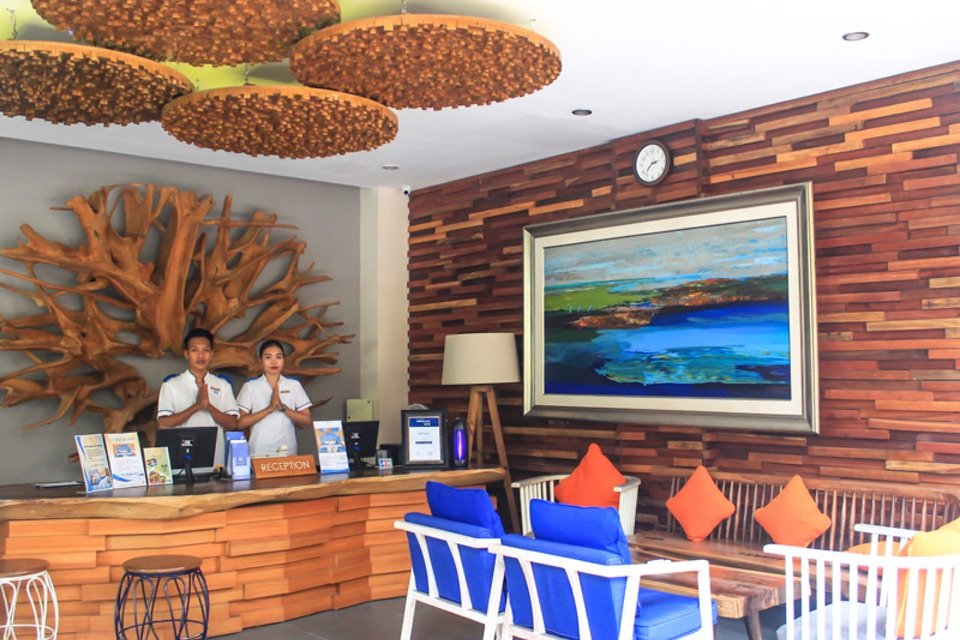 Natya Hotel, Gili Trawangan_Reception