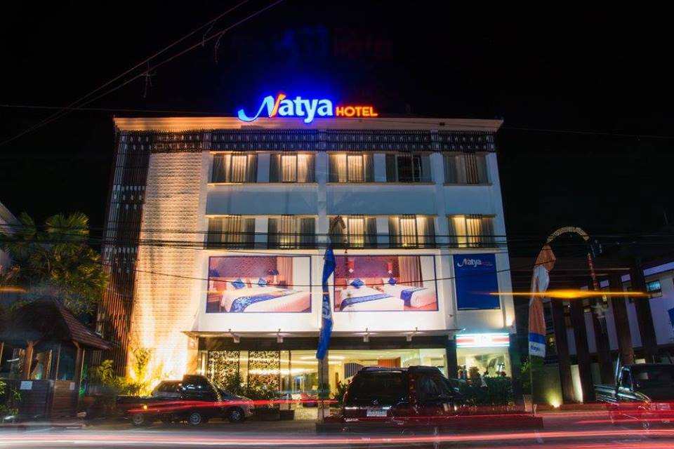 Natya Hotel Kuta, Bali_Front