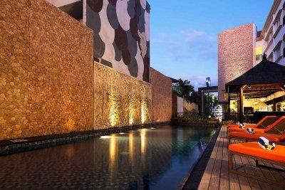 Natya Hotel Kuta, Bali_Pool