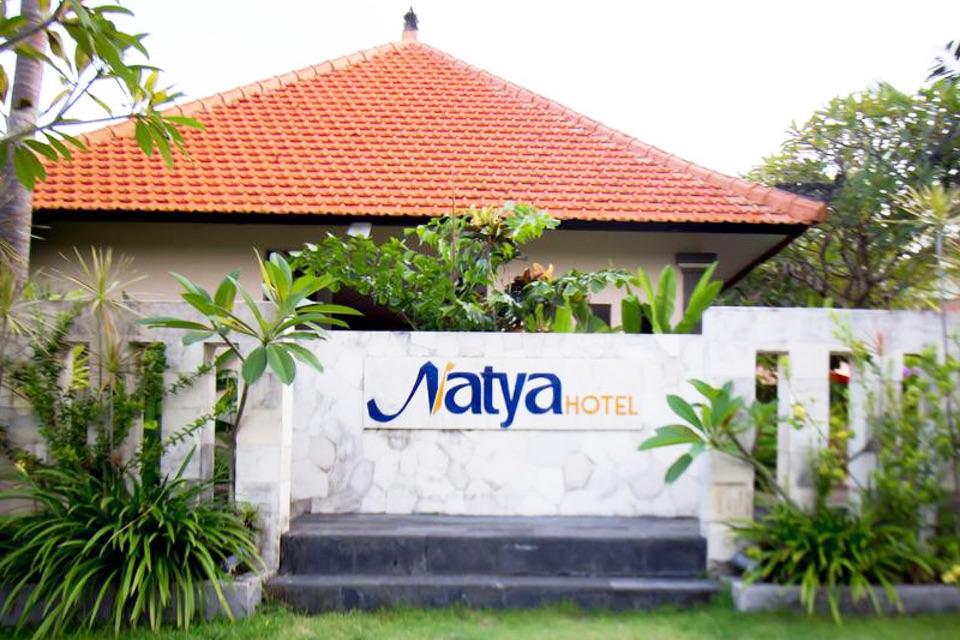 Natya Hotel Tanah Lot_Front Gate