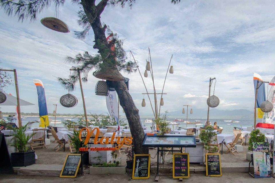 Natys Restaurant, Gili Trawangan