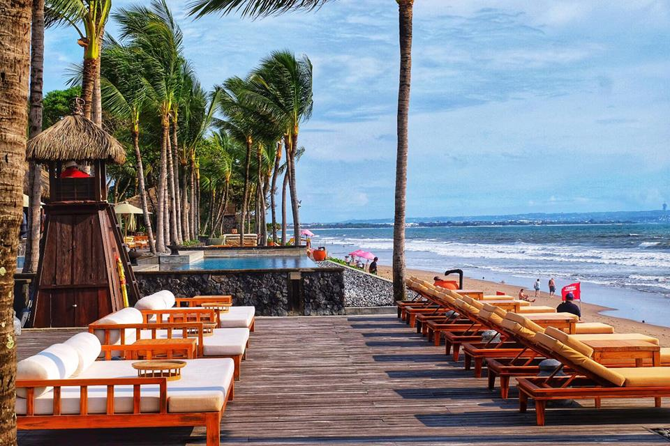 The Legian Bali, Beach View